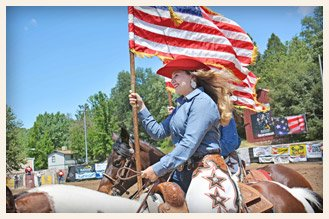 Mother Lode Round-Up Rodeo and Parade Sonora California