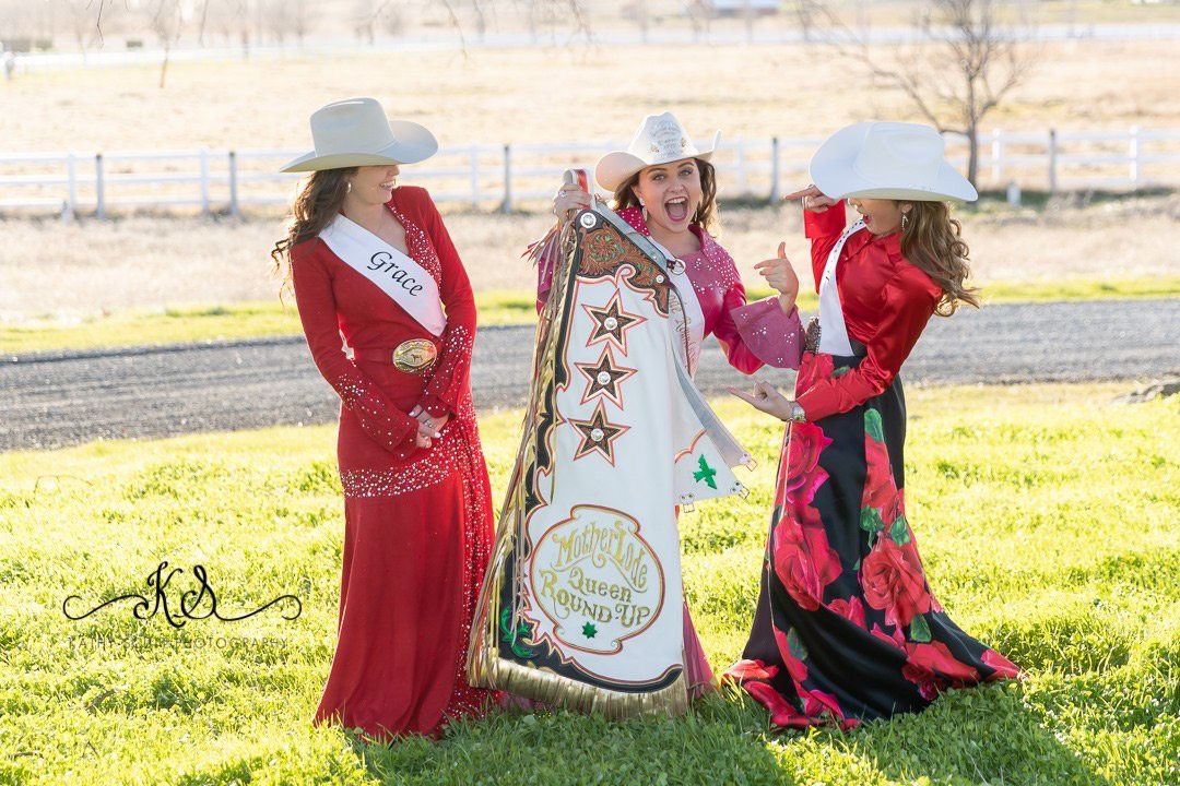 Mother Lode Round-Up 2019 Queen with 2020 Contestants