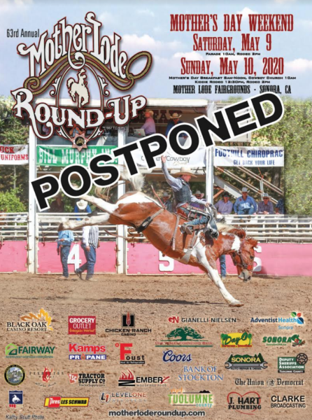 2020 Mother Lode Round Up Postponed